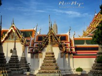 Temples of Wat Pho - Bangkok Thailand - by Anika Mikkelson - Miss Maps