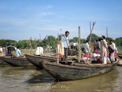 Ready to Cross the Mighty River - Mongla Bangladesh - by Anika Mikkelson - Miss Maps - www.MissMaps.com