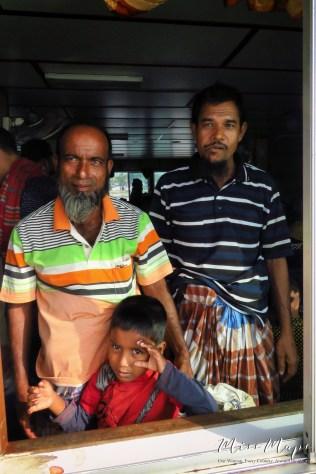 Three Generations on the Rocket Steamer Boat - Dhaka to Sundarbans Bangladesh - by Anika Mikkelson - Miss Maps - www.MissMaps.com