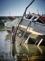 Working on Boats of Mongla Bangladesh - by Anika Mikkelson - Miss Maps - www.MissMaps.com