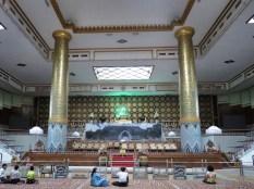Inside Maha Pasana Guya - Cave Pagoda - World Peace Pagoda - Yangon Myanmar - by Anika Mikkelson - Miss Maps - www.MissMaps.com