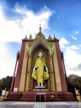 Standing Buddha - Pagu Bago Myanmar - by Anika Mikkelson - Miss Maps - www.MissMaps.com