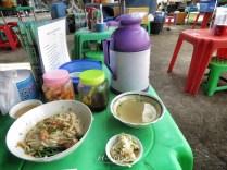 Street Food - Shan Noodles - Downtown Yangon Myanmar - by Anika Mikkelson - Miss Maps- www.MissMaps.com
