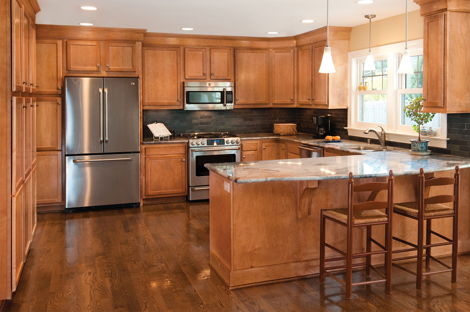 Refinishing - Beautiful Finish, LLC on What Color Countertops Go With Maple Cabinets  id=80190
