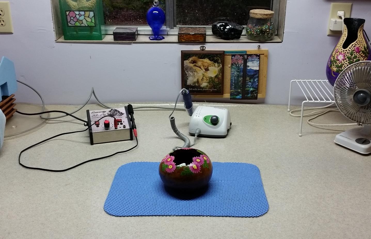 beautiful gourd art work space