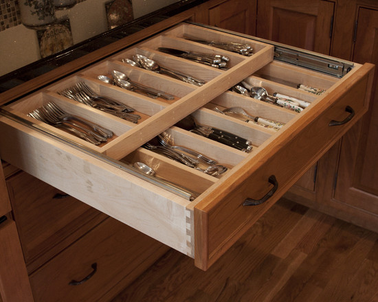 Kitchen Silverware Drawer Beautiful Homes Design