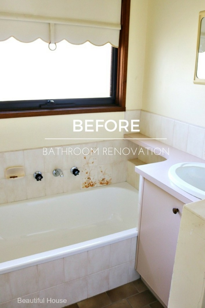 Before bathroom renovationn