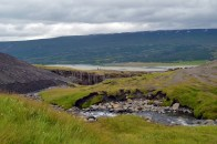 On our way to Hengifoss waterfall