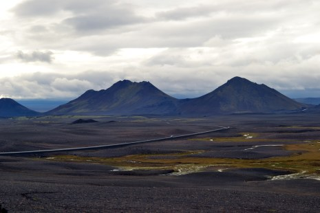 on our way to myvatn