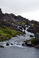 Oxararfoss Waterfall