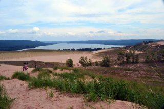 The Sleeping Bear Dune National Park,