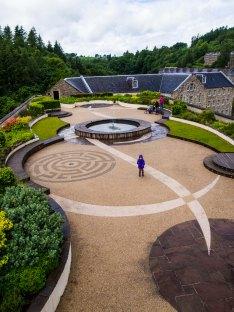 New Lanark, Roof garden