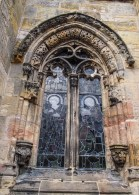 Carvings at Rosslyn Chapel