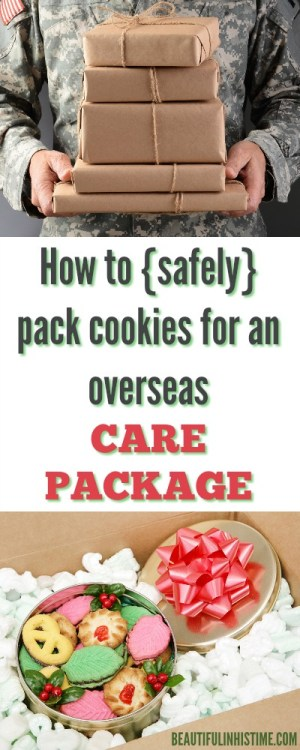 HOW TO SAFELY PACK COOKIES FOR AN OVERSEAS CARE PACKAGE