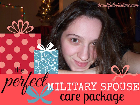military spouse care package