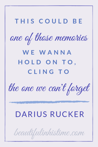 The Darius Rucker concert that we will remember forever | This could be one of those memories we wanna hold on to, cling to, the one we can't forget