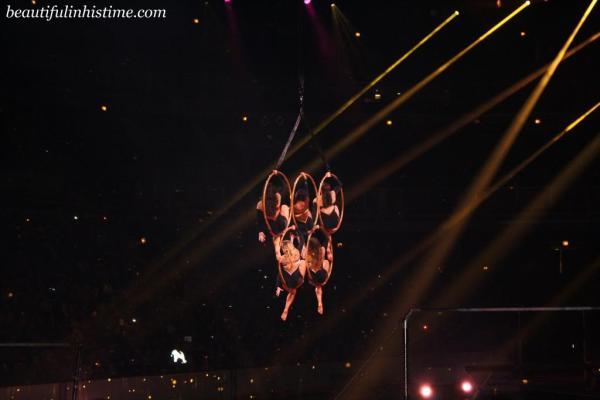 Kellogg's Tour of Gymnastics Champions Fierce Five Olympic Rings