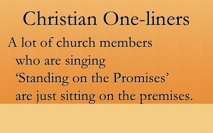 """Sitting on the premises"" - sometimes, it's okay not to serve in church"