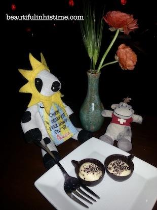 33 chickfila cow dessert
