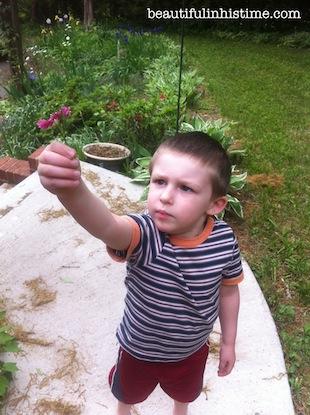 07 boy giving me a flower