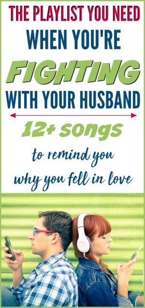 The playlist you need when you are fighting with your husband | songs to remind you why you fell in love | Love songs for troubled marriages, struggling marriages