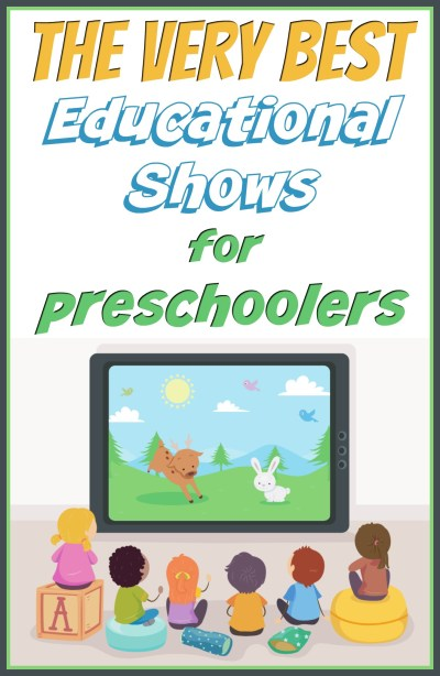 The very educational TV shows for preschoolers! Find the best shows on Netflix, Hulu, Amazon Prime, YouTube and MORE to teach your preschooler the basics and give mama a break!