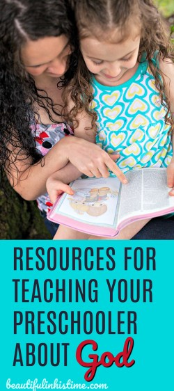 Resources for teaching preschoolers about God