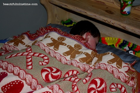 four year old sleeping