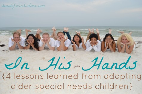 4 lessons learned from adopting older special needs children