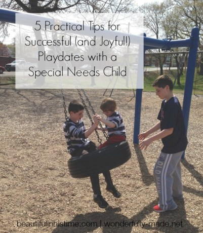 5 Practical Tips for Successful (and Joyful!) Playdates with a Special Needs Child