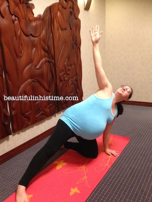 37 weeks yoga pose C