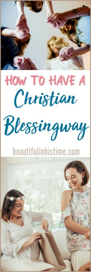 A Christian Blessingway: Little Brother's Baby Shower | ideas for a Christian baby shower, a Christian mother blessing, or a Christian blessingway