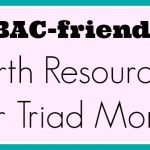 Going Local: VBAC-friendly birth resources for Triad, NC Moms