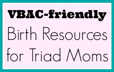 VBAC friendly birth resources