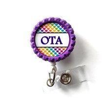 Occupational Therapy Badge Holder