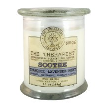 The Therapist brand soy candle