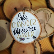Difference Maker Ornament