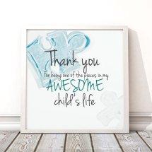 Custom Teacher Gift - Autism Awareness