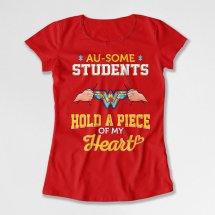 Autism Teacher Wonder Woman Shirt