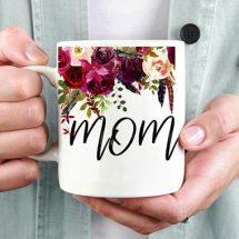 Flowered Mom Mug
