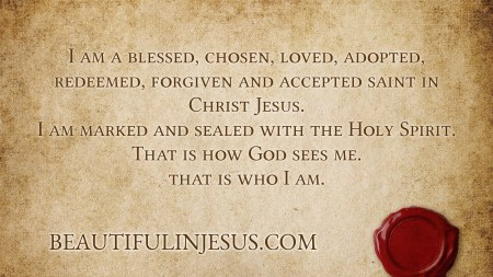 Ephesians 1: Sealed with The Holy Spirit
