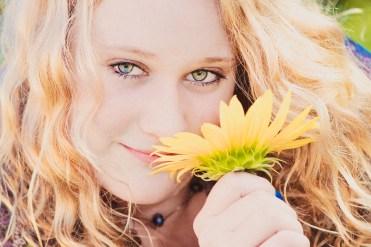 High School Senior Photo Girl
