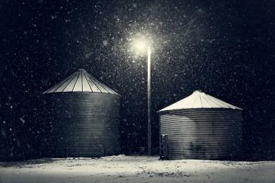 Frozen Grain Bins