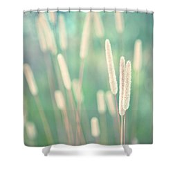 Spring Shower Curtain - Tall Grasses Swaying