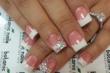 Short French Tip Manicure Edi Maps Full Hd Maps