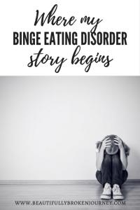 My journey with binge eating disorder began as an adolescent... long before I knew there was a name for my disordered eating.