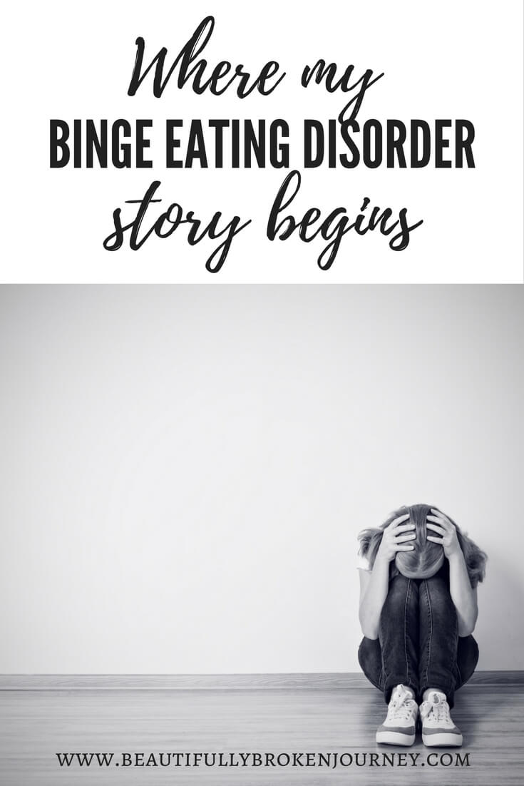 My journey with binge eating disorder began as an adolescent... long before I ever knew a name for my disordered eating.
