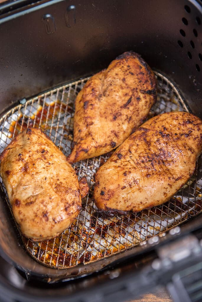 Southwest Chicken in the air fryer