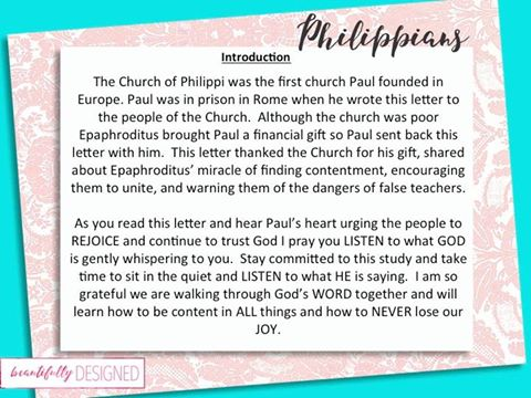 philippians introduction