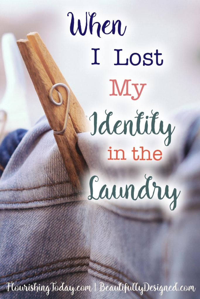 When I lost my identity in the laundry
